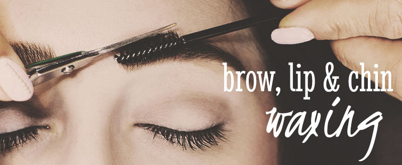 Brow, Lips & Chin Waxing Services